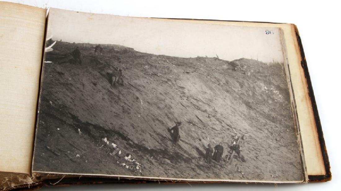 WWI FRENCH MILITARY PHOTO ALBUM MILITARY CIVILIAN - 9