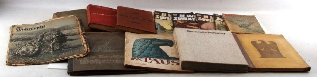 WWII GERMAN POLISH CIGARETTE CARD PHOTO BOOKS MORE