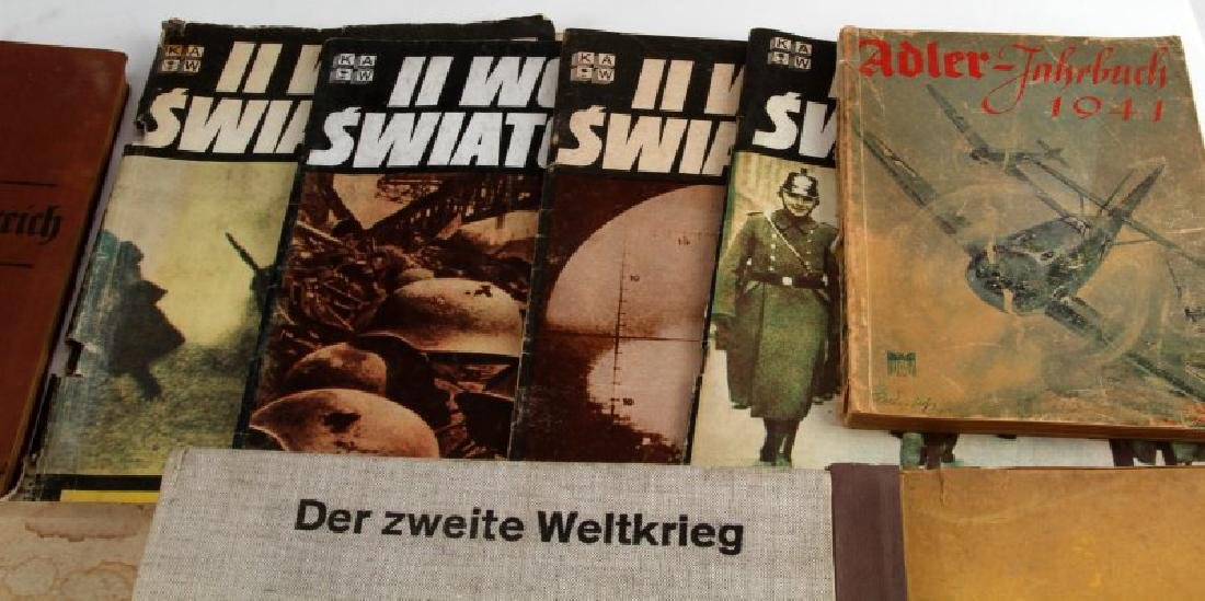 WWII GERMAN POLISH CIGARETTE CARD PHOTO BOOKS MORE - 3