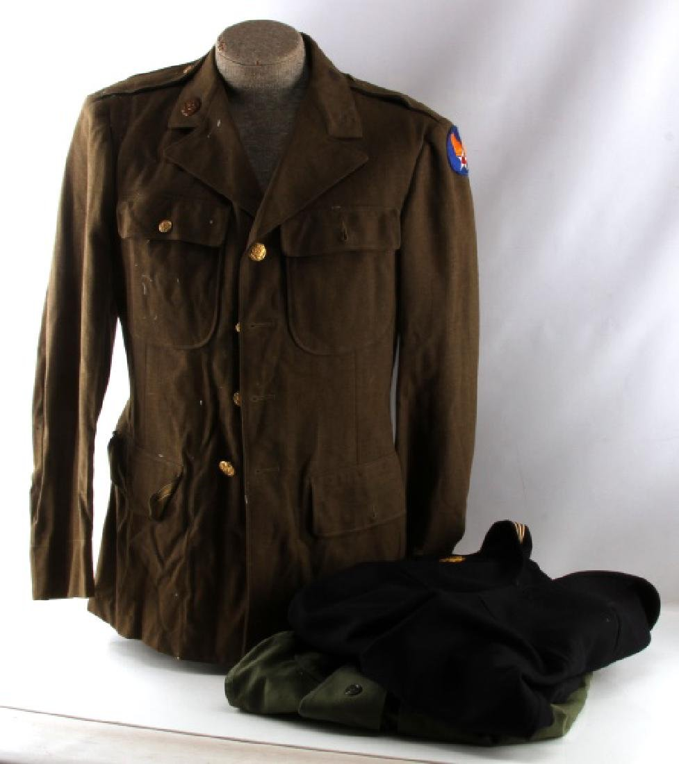 3 US MILITARY JACKETS SHIRTS MARINE CORPS NAVY