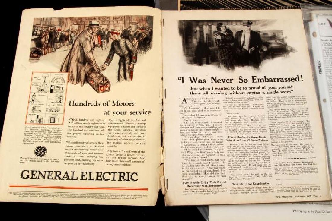 LARGE LOT OF WWII MUSSOLINI DOCUMENTS & EPHEMERA - 2