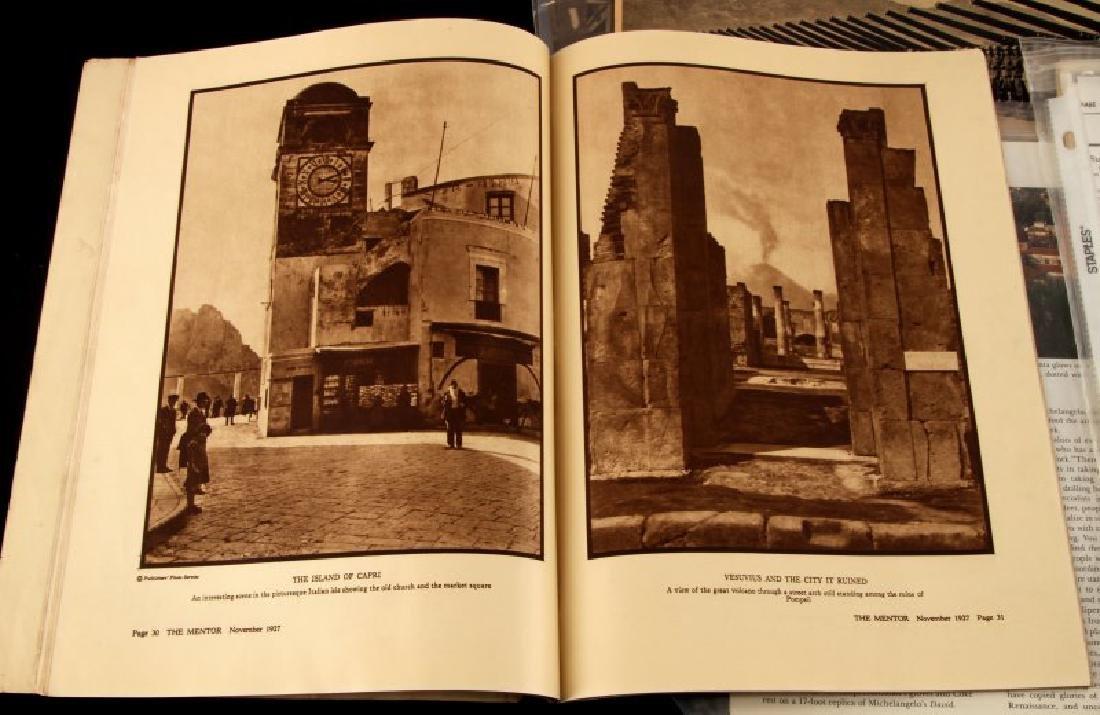 LARGE LOT OF WWII MUSSOLINI DOCUMENTS & EPHEMERA - 3