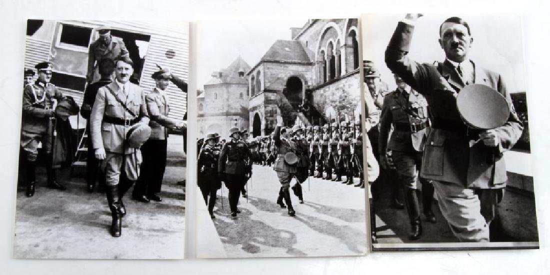 GERMAN WWII HITLER PHOTOGRAPHS & RUSSIAN DOCUMENTS - 7