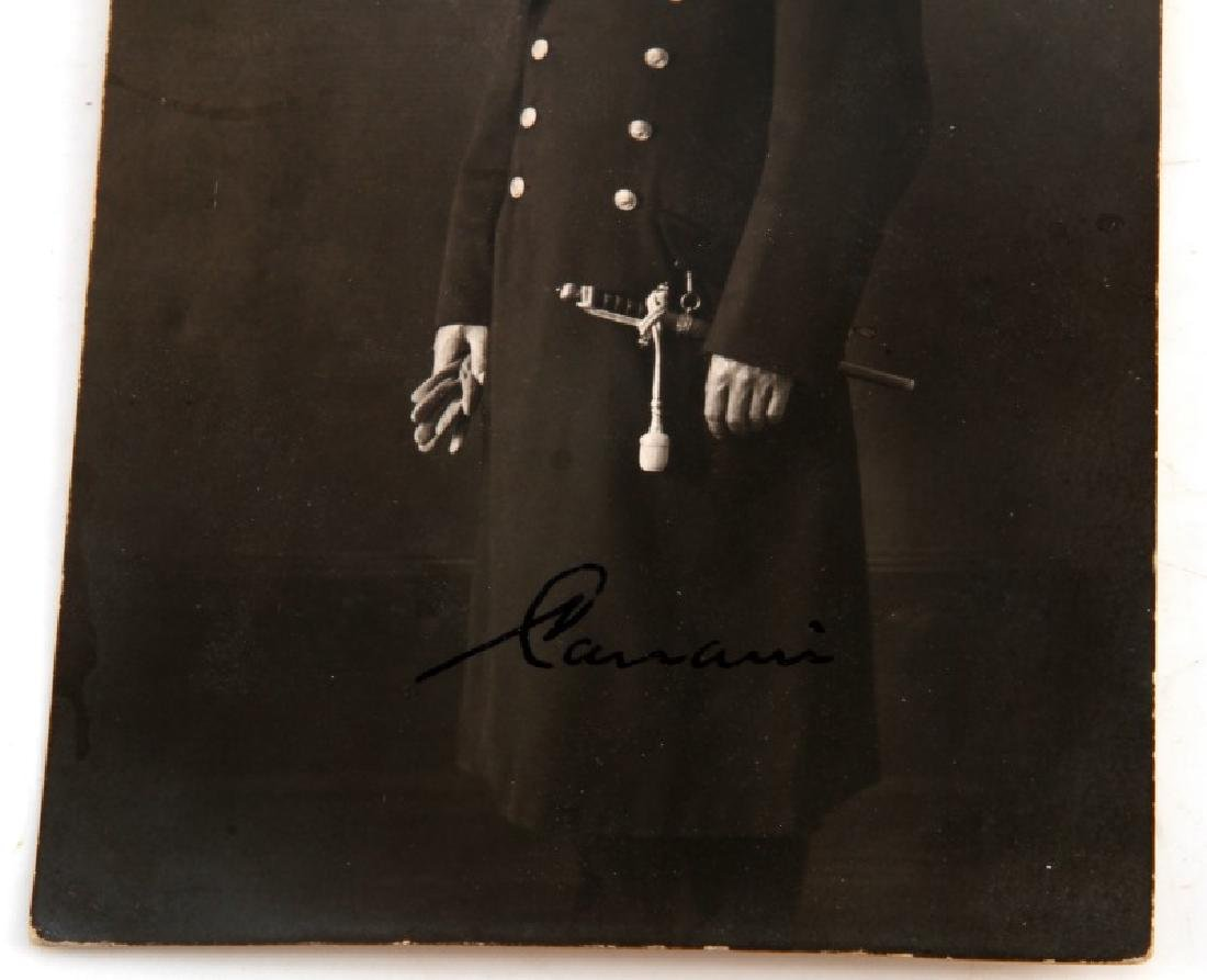 AUTOGRAPHED PHOTO ADMIRAL CANARIS GERMAN WWII - 3