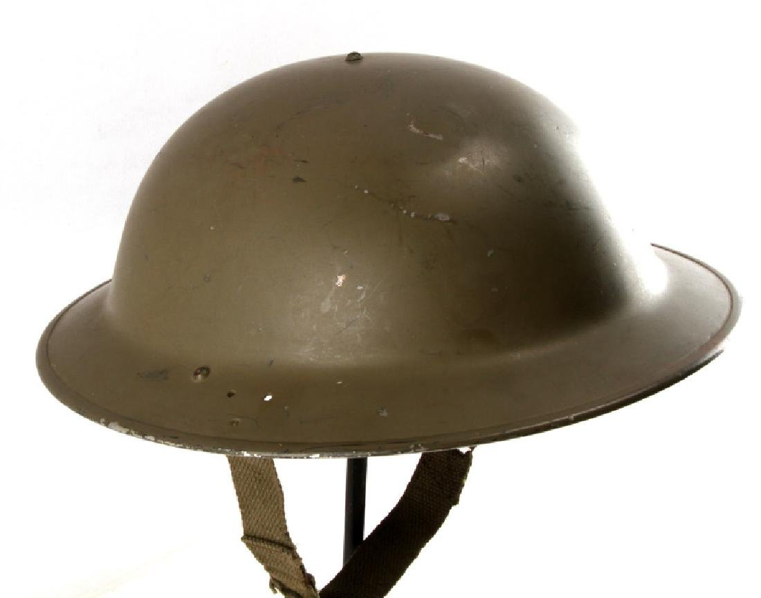 WWI U.S. M1917 INTER WAR MODIFIED BRODIE HELMET - 2