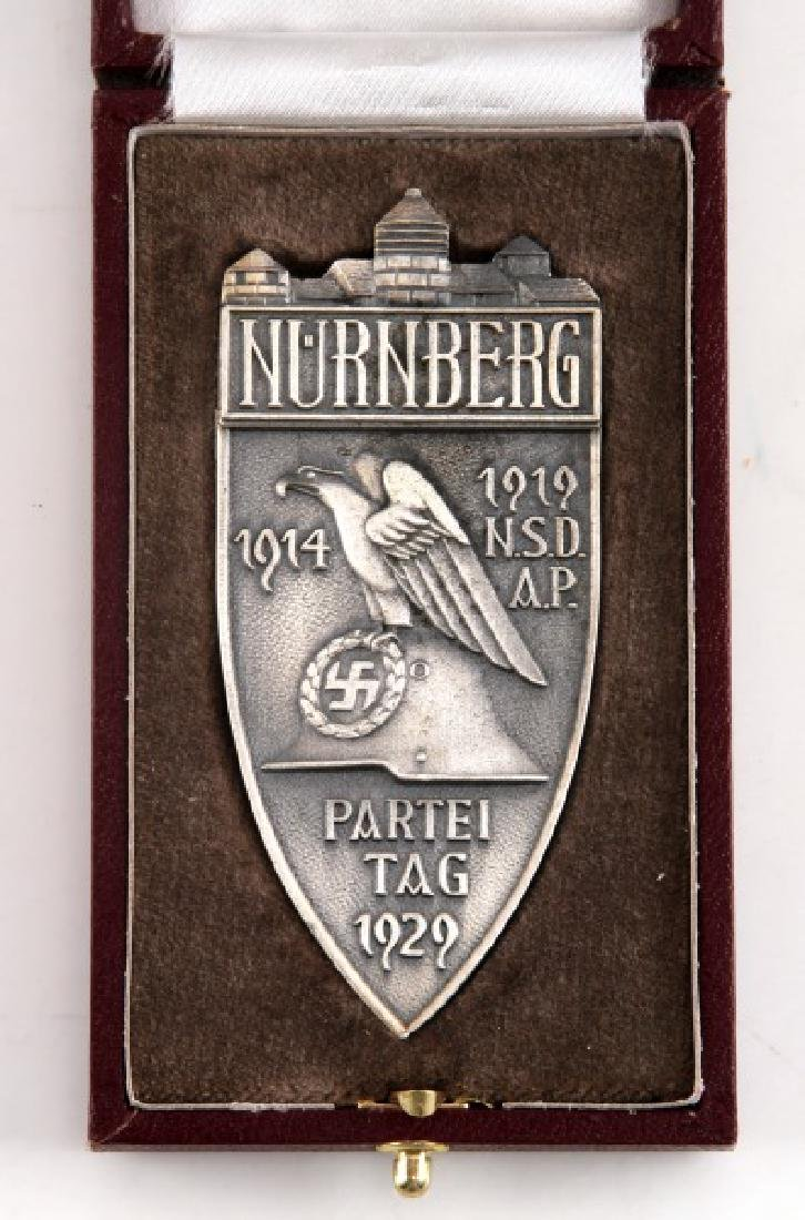 WWII GERMAN THIRD REICH NSDAP PARTY DAY 1929 MEDAL