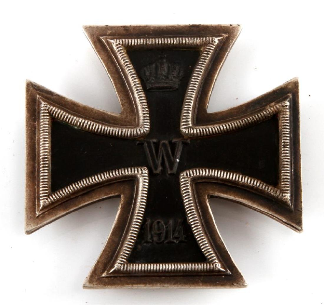GERMAN REICH WWI 1914 IRON CROSS 1ST CLASS BADGE