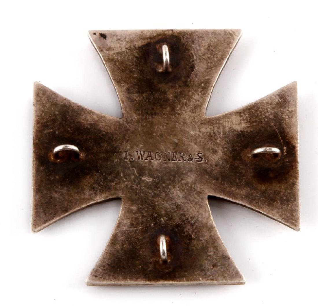 GERMAN REICH WWI 1914 IRON CROSS 1ST CLASS BADGE - 2