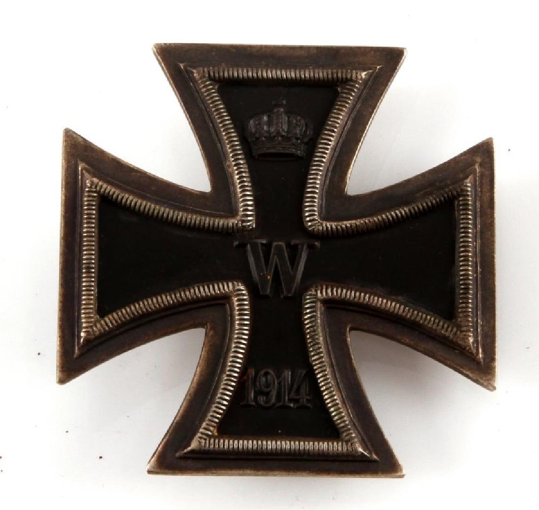 WWI GERMAN REICH 1914 IRON CROSS 1ST CLASS BADGE