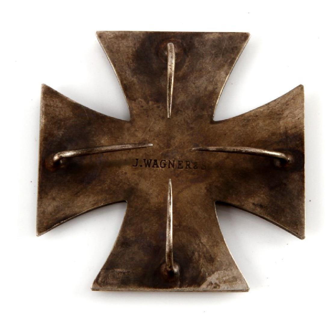 WWI GERMAN REICH 1914 IRON CROSS 1ST CLASS BADGE - 2