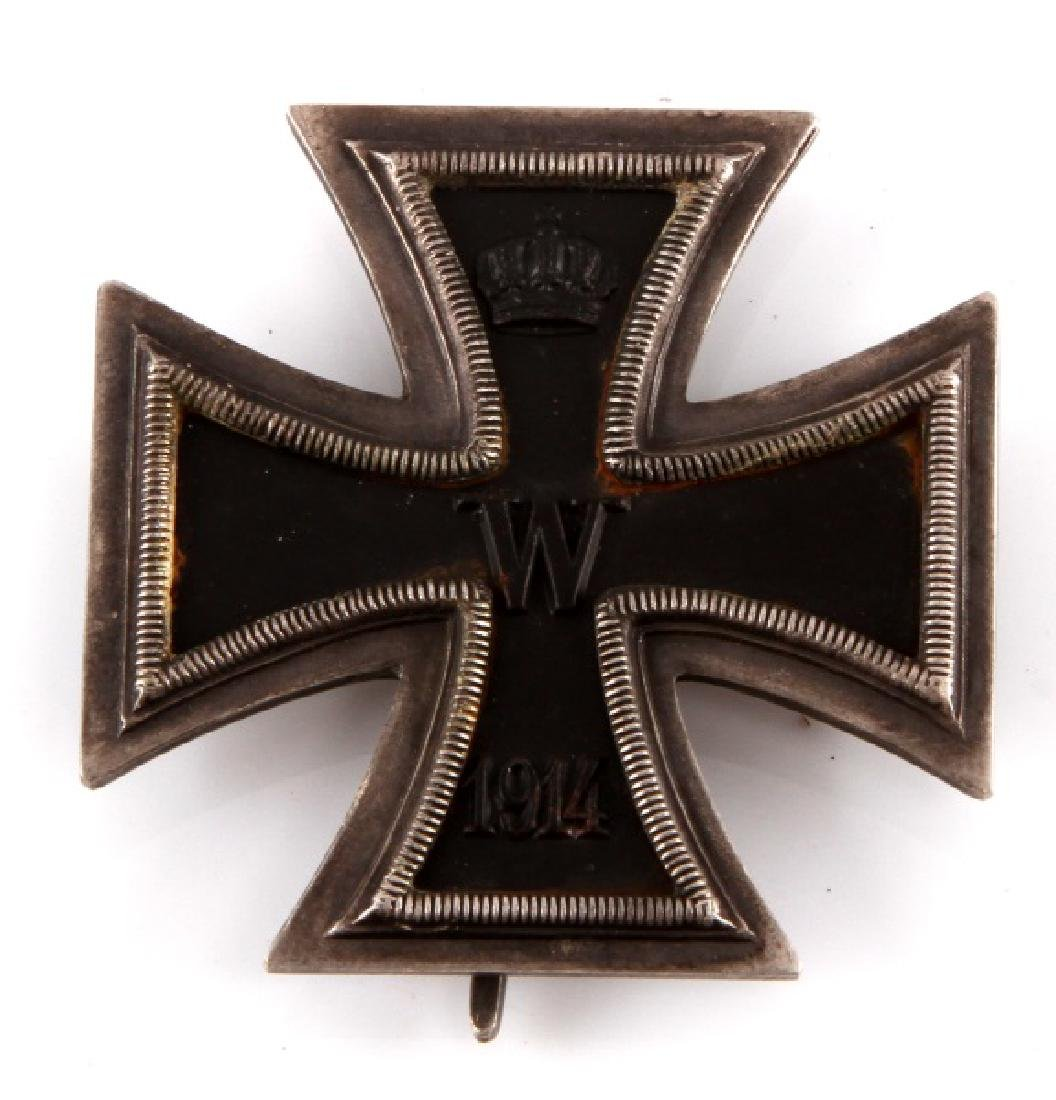 GERMAN REICH WWI 1914 IRON CROSS 1ST CLASS BADGE