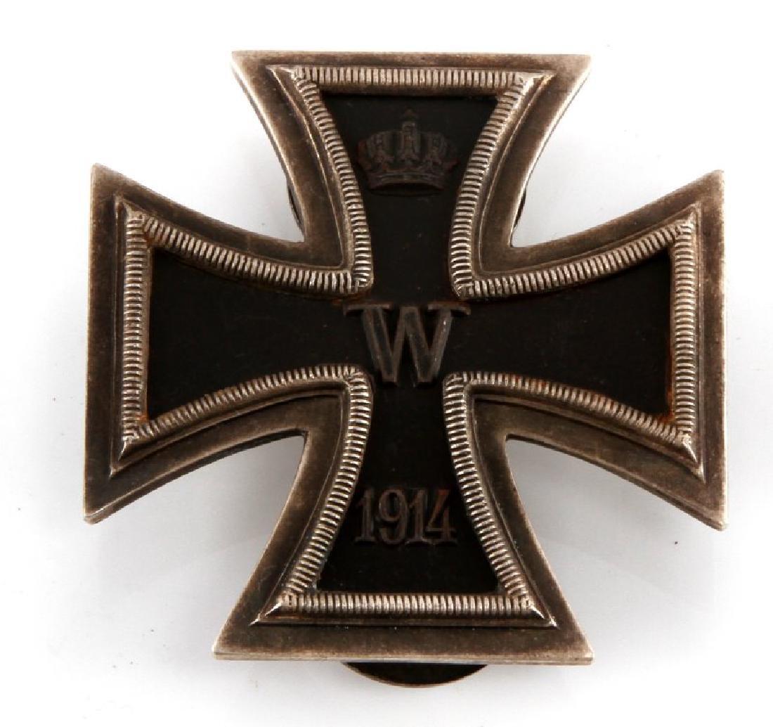 WWI GERMAN REICH 1914 IRON CROSS 1ST CLASS BADGE