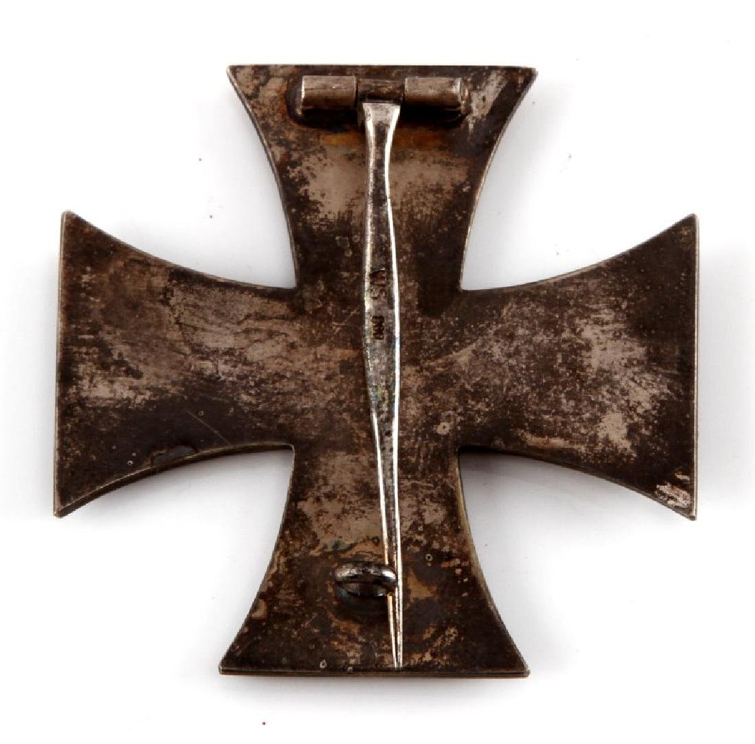 WWI GERMAN REICH IRON CROSS 1ST CLASS BADGE - 2