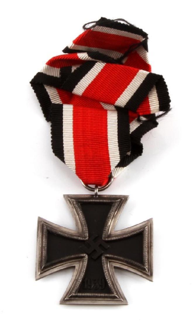 WWII GERMAN 3RD REICH IRON CROSS2ND CLASS W RIBBON
