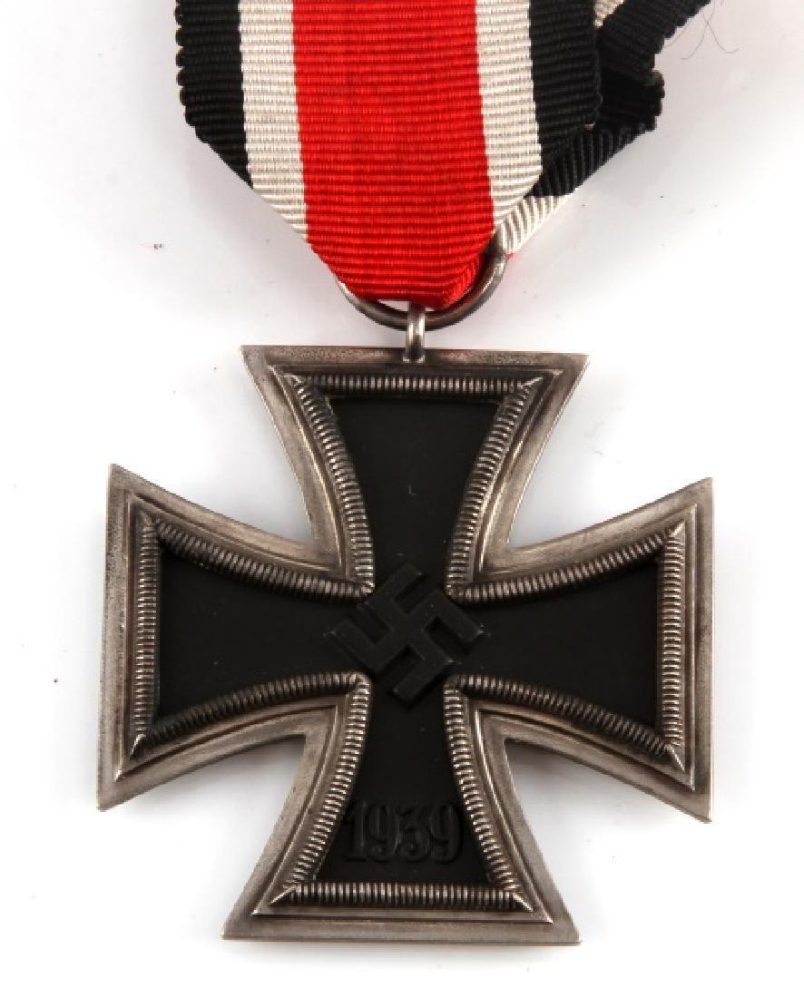 WWII GERMAN 3RD REICH IRON CROSS2ND CLASS W RIBBON - 2