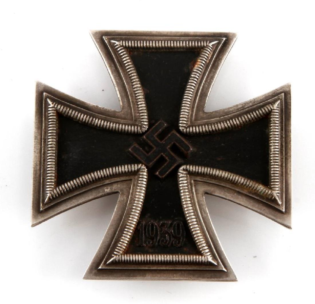 WWII GERMAN THIRD REICH IRON CROSS 1ST CLASS BADGE