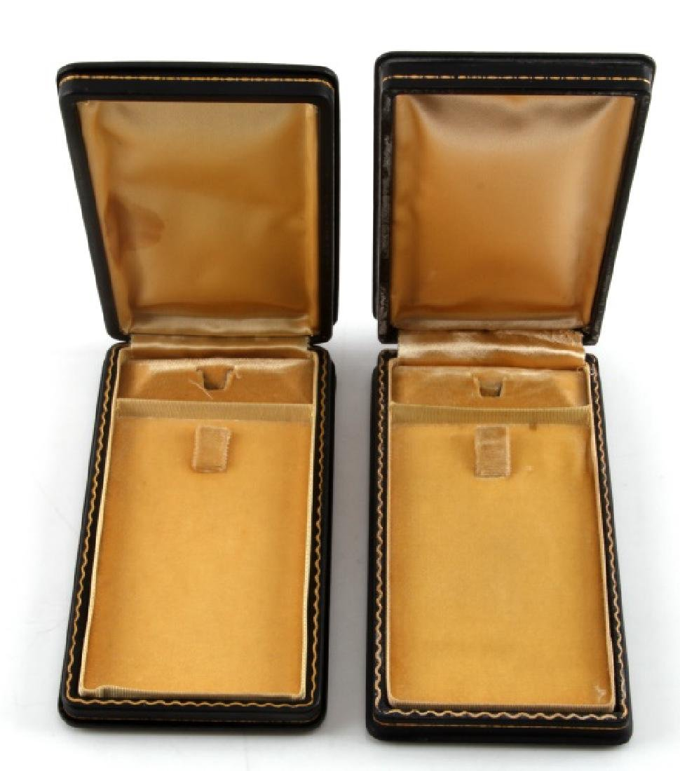 PAIR OF ORIGINAL ISSUE PURPLE HEART MEDAL BOXES - 2