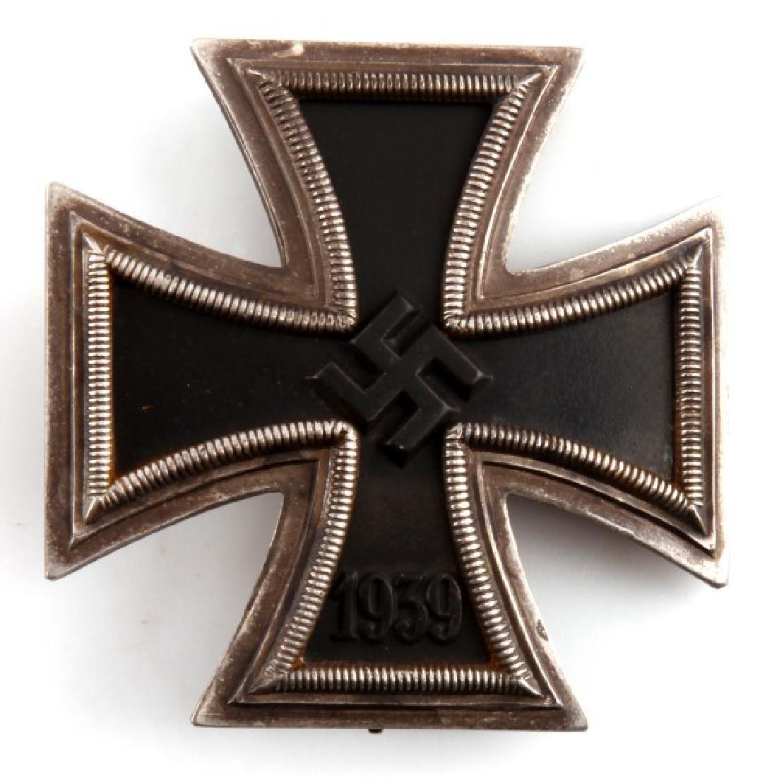 WWII GERMAN 3RD REICH IRON CROSS 1ST CLASS