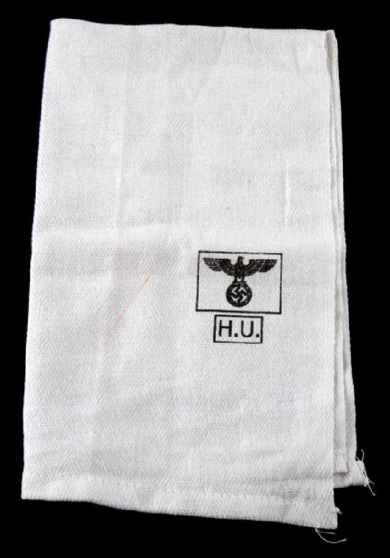 WWII GERMAN THIRD REICH WEHRMACHT HEER HAND TOWEL
