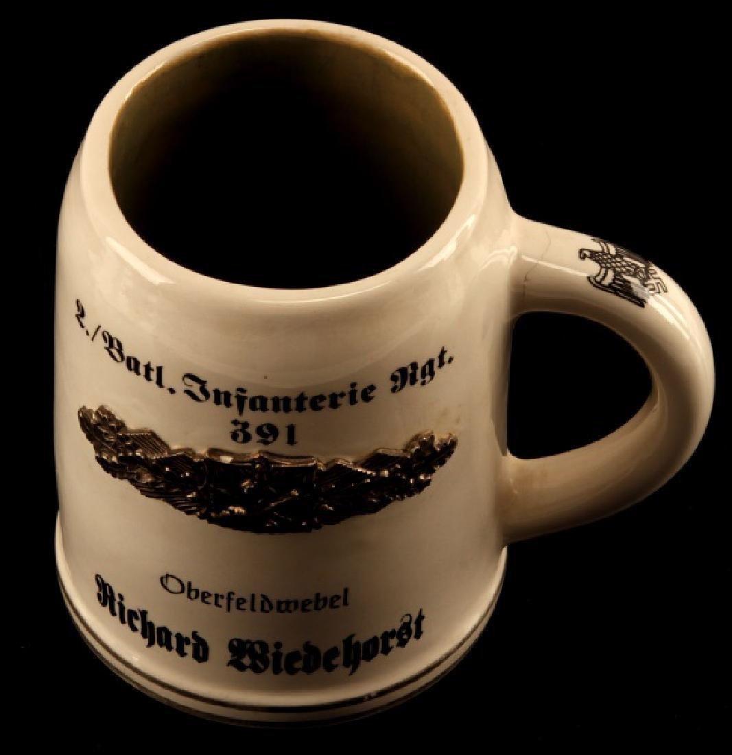 GERMAN WWII INFANTERIE RGT 391 PRESENTATION MUG