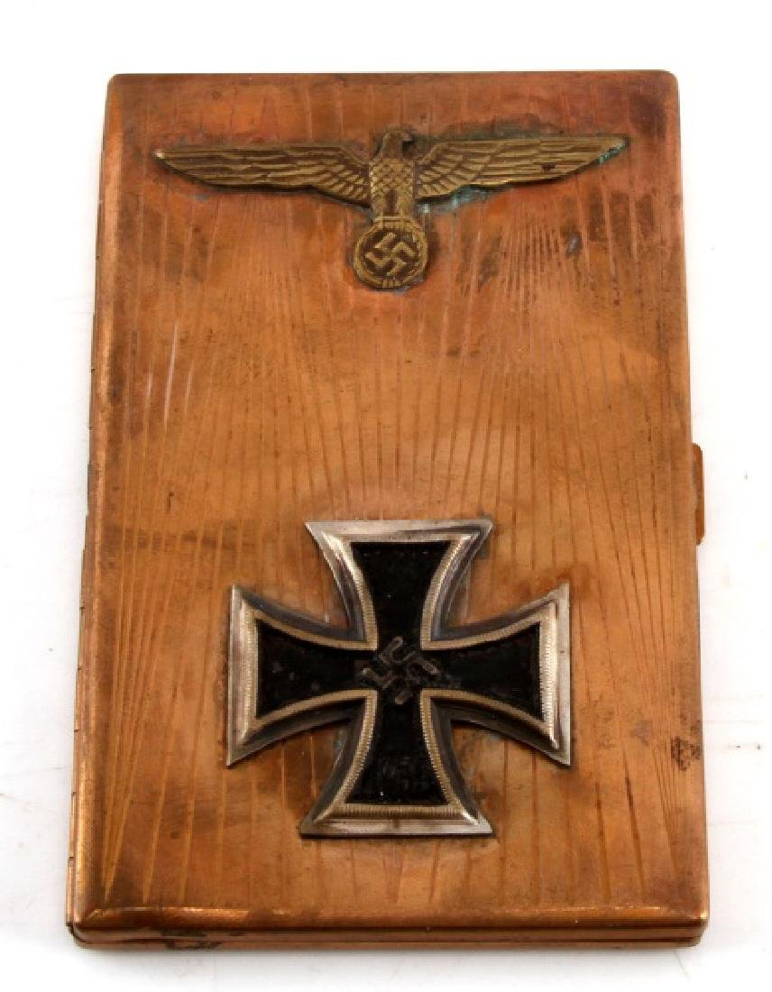 WWII GERMAN THIRD REICH IRON CROSS CIGARETTE CASE