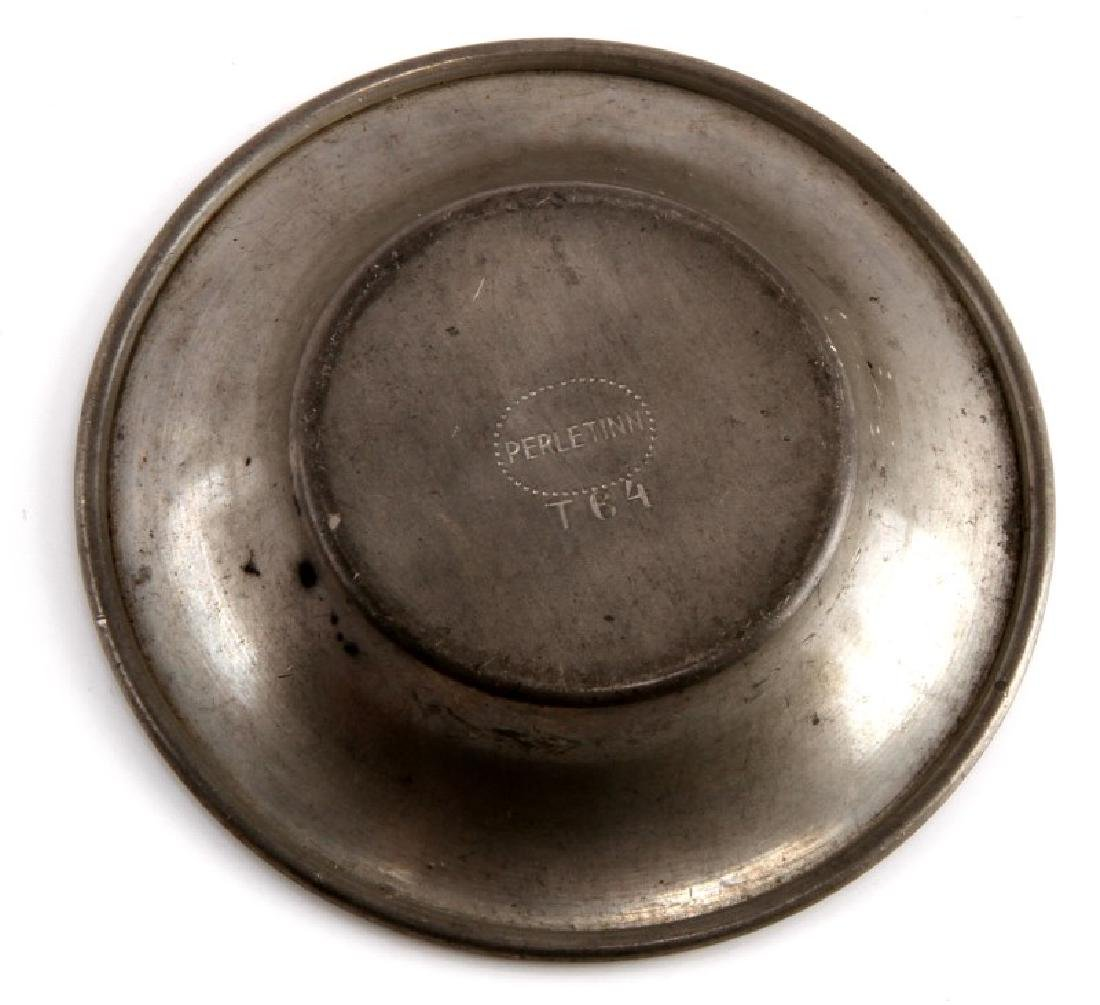 WWII GERMAN THIRD REICH SS NORGE 1940 PEWTER DISH - 3