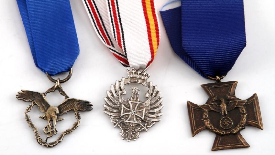 3 GERMAN WWII THIRD REICH PERIOD AWARD MEDALS - 2