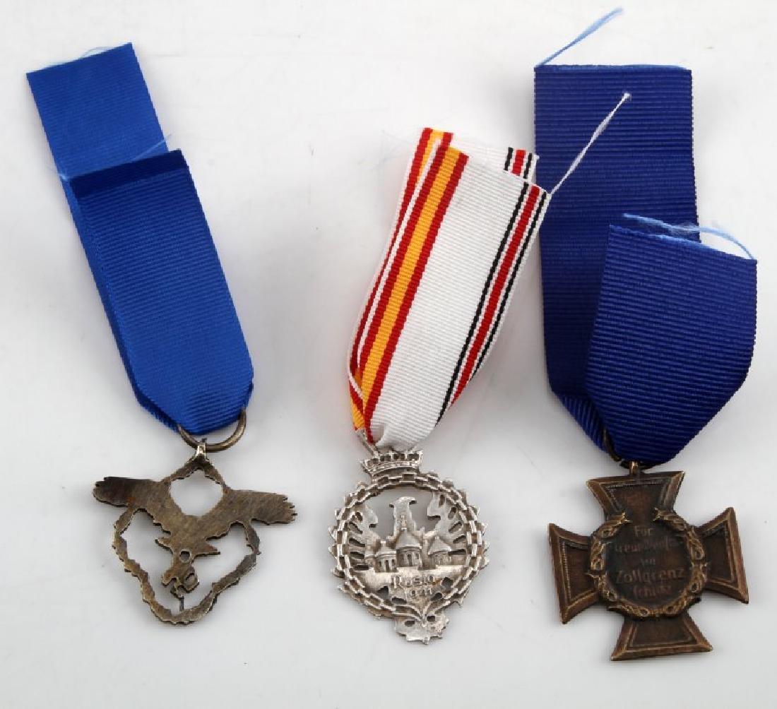 3 GERMAN WWII THIRD REICH PERIOD AWARD MEDALS - 3