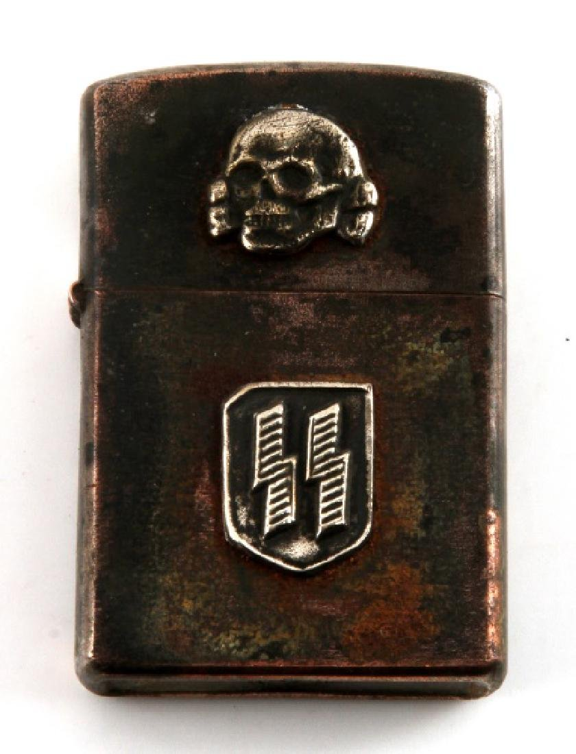 GERMAN WWII WAFFEN SS CIGARETTE LIGHTER