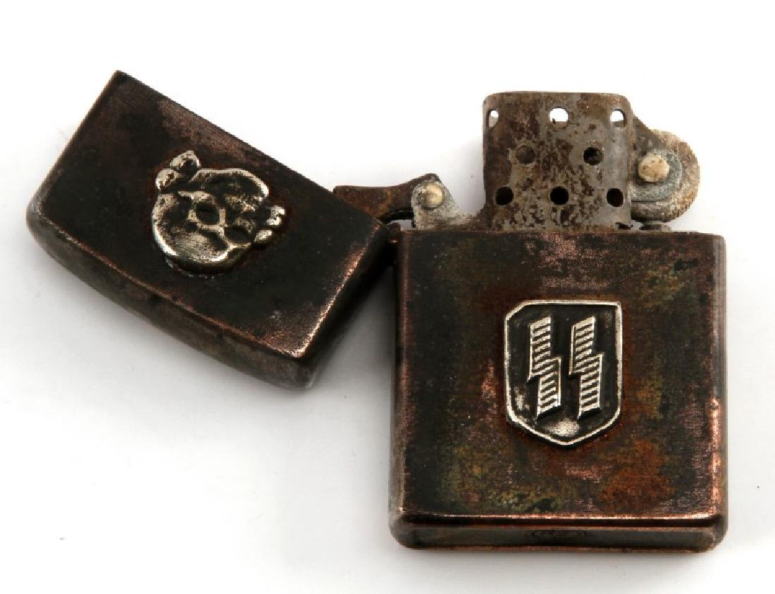 GERMAN WWII WAFFEN SS CIGARETTE LIGHTER - 3
