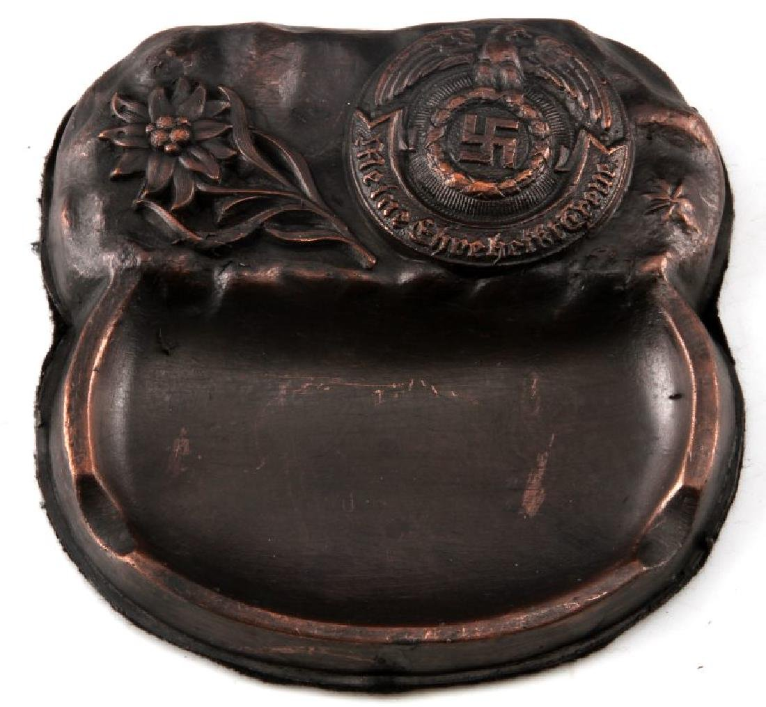 GERMAN WWII MOUNTAIN TROOPS ASHTRAY