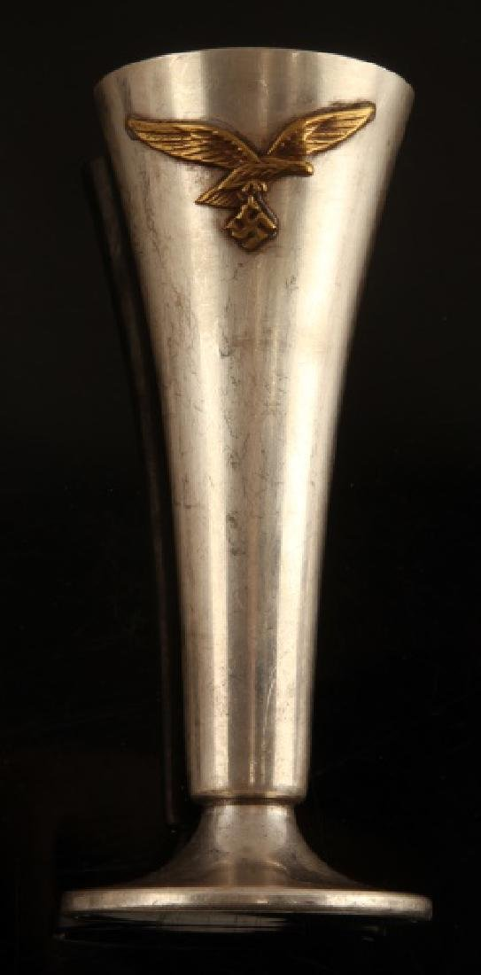 GERMAN WWII LUFTWAFFE FLOWER VASE