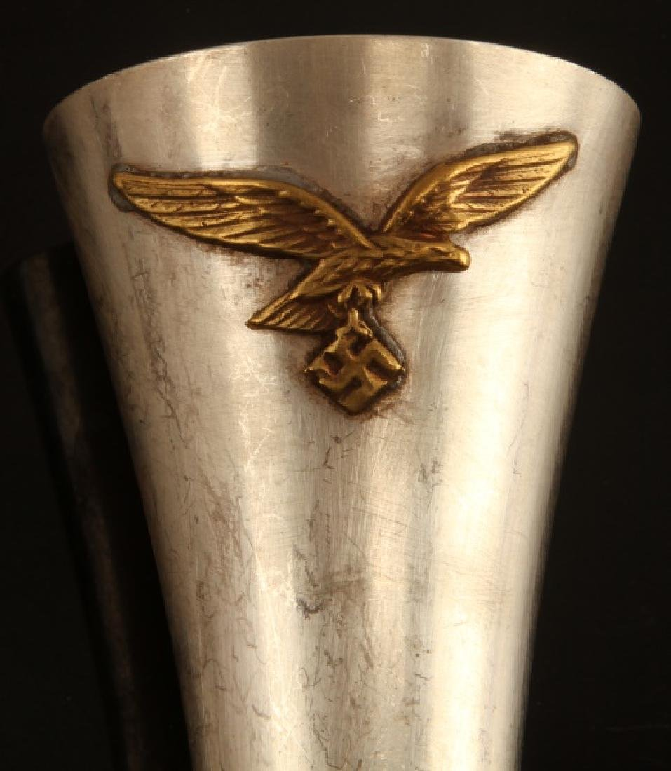 GERMAN WWII LUFTWAFFE FLOWER VASE - 2
