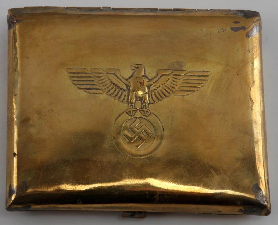 GERMAN WWII THIRD REICH NSDAP CIGARETTE CASE