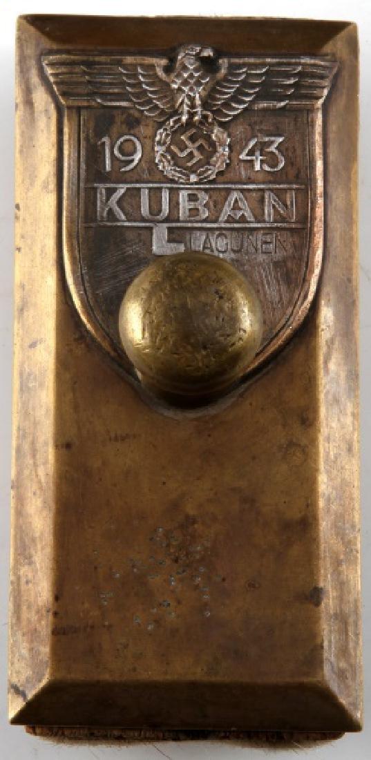GERMAN WWII THIRD REICH BATTLE FOR KUBAN BLOTTER