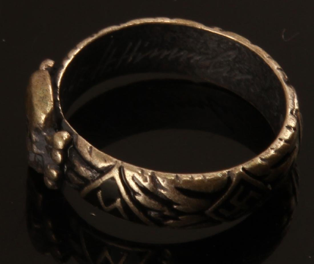 GERMAN WWII THIRD REICH SS HIMMLER HONOR RING - 2