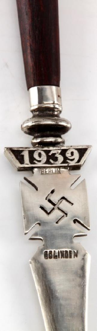 GERMAN WWII 3RD REICH 1939 NSDAP SOLINGEN KNIFE - 2