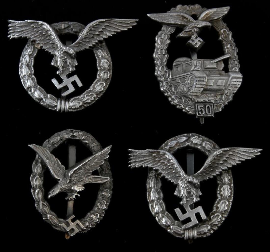 GERMAN WWII THIRD REICH LUFTWAFFE BADGES