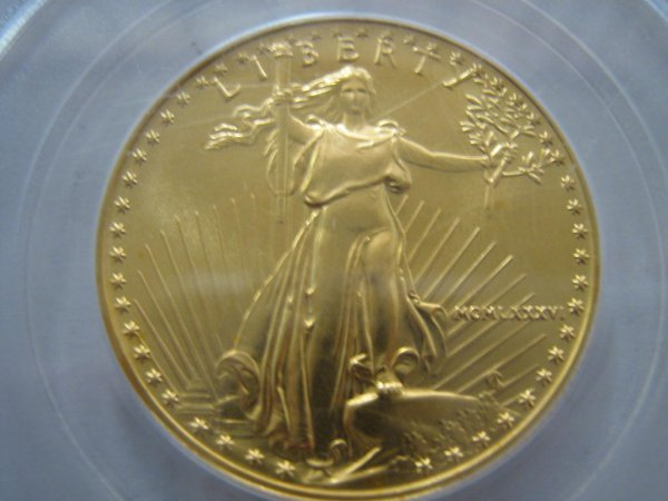 1986 PCGS MS-69 GOLD 1/2 OZ AMERICAN EAGLE