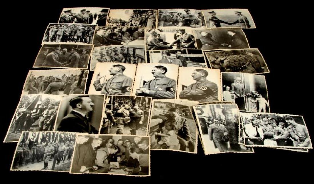 GROUP OF 27 VINTAGE PHOTOS UKRAINE ADOLPH HITLER