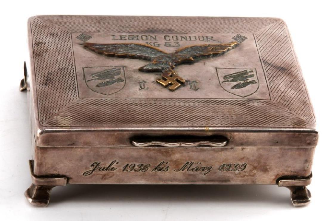 GERMAN THIRD REICH CONDOR LEGION CIGARETTE BOX
