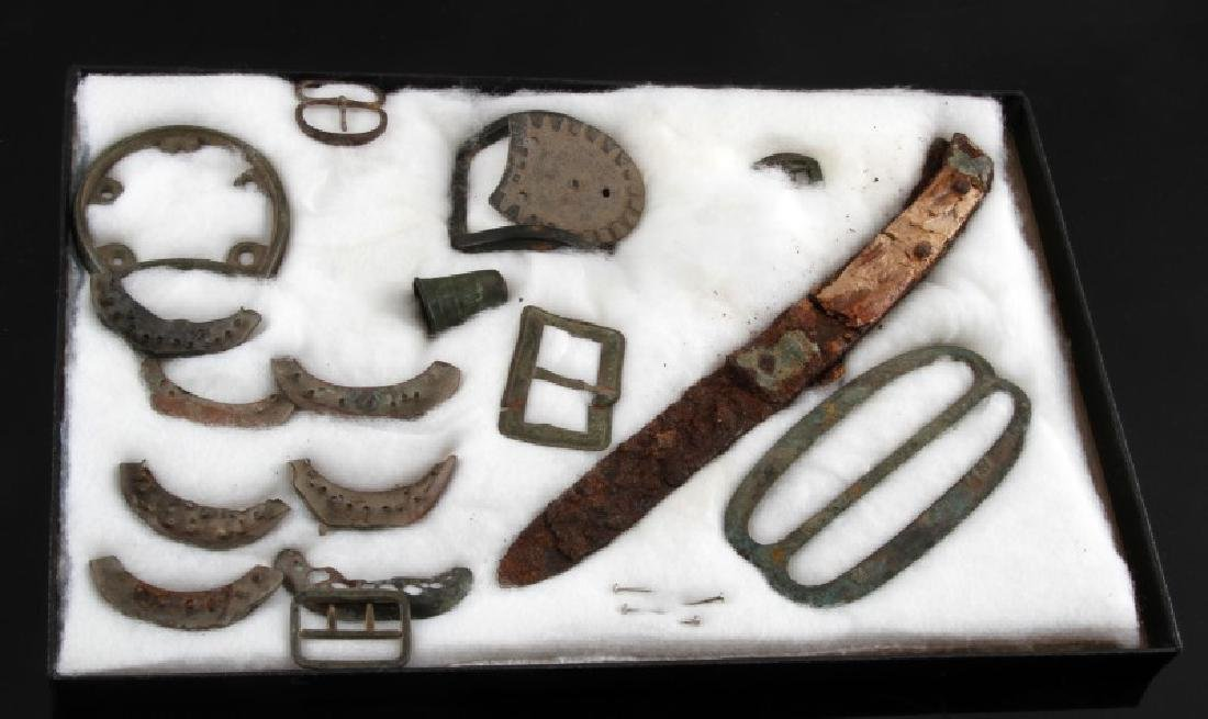 FRENCH FORT MEMPHIS PRIVY DUG FRENCH ARTIFACTS