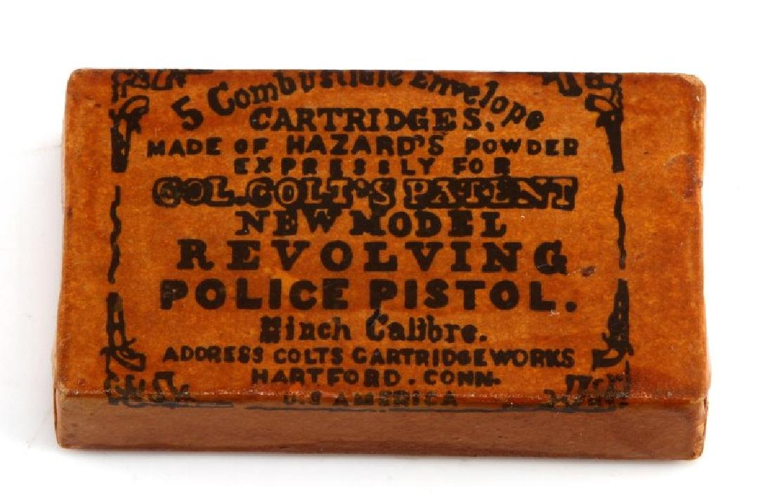 COLT'S PATENT POLICE PISTOL SEALED CARTRIDGE PACK