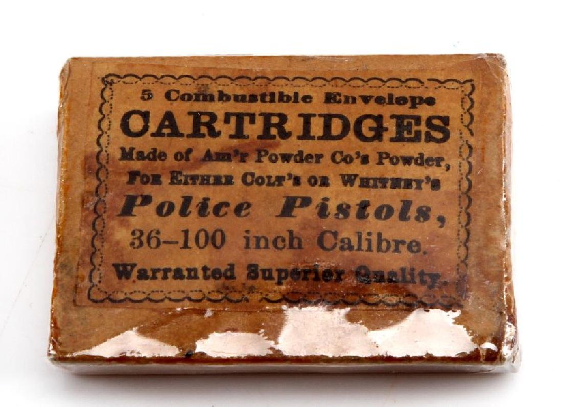 UNOPENED NEW OLD STOCK COLT POLICE PISTOL AMMO
