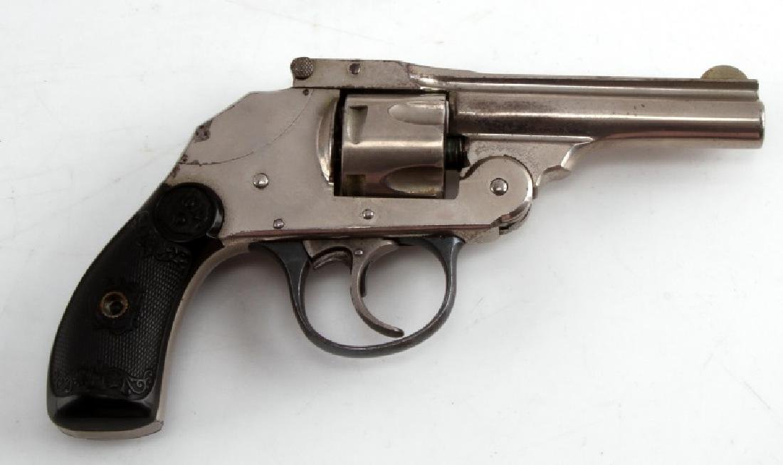 IVER JOHNSON .32 TOP BREAK HAMMERLESS REVOLVER