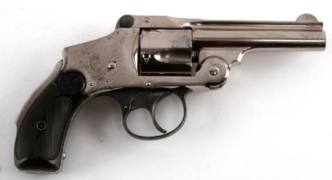 SMITH WESSON SAFETY HAMMERLESS 4TH ISSUE REVOLVER