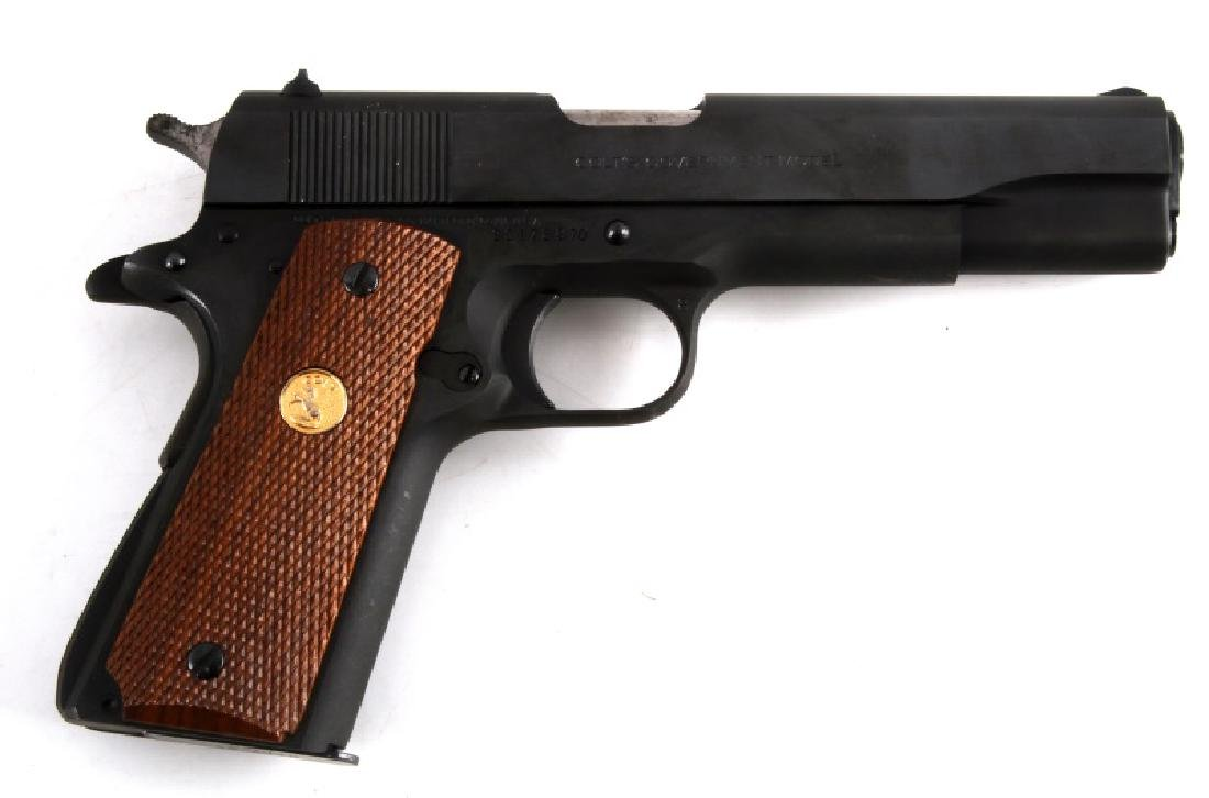 COLT MKIV SERIES 70 GOVERNMENT MODEL 45ACP 1911