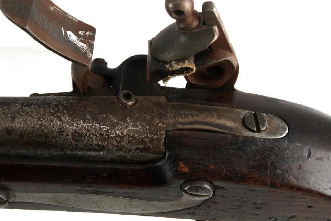 19TH CENTURY ANTIQUE FLINTLOCK SPRINGFIELD MUSKET