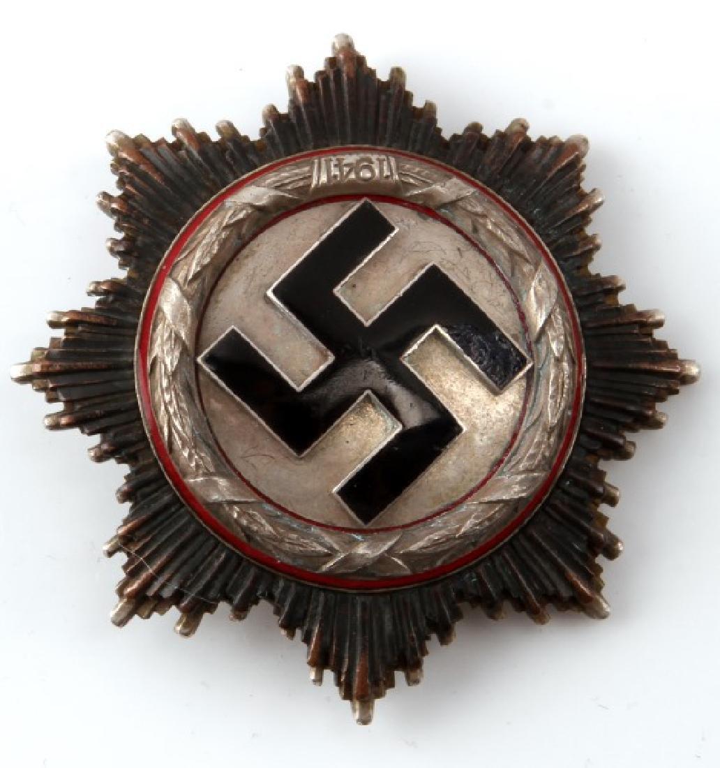 GERMAN WWII NSDAP THIRD REICH SILVER GERMAN CROSS