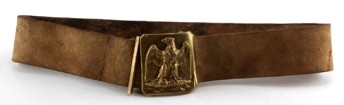 NAPOLEON III WAR CRIMEA PERIOD BELT & BUCKLE